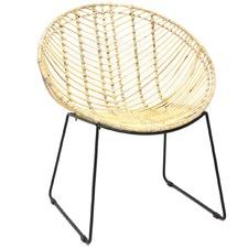 Parabola Cane Chair