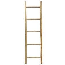 Natural Teak Twig Ladder