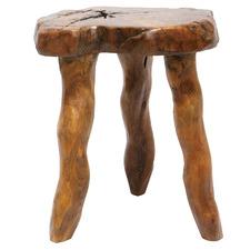 Natural Nina Teak Wood Side Table