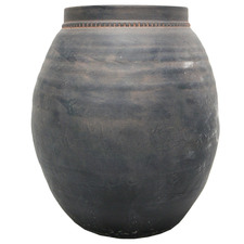 Black Wash Tryp Ceramic Vase