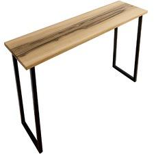 Natural & Black Belle Oak Console Table
