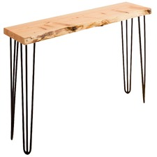 Black Legs Molly Oak Console Table