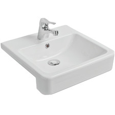 Sierra Recessed Fine Fireclay Wash Basin