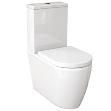 Narva Ceramic Rimless Back-To-Wall Toilet Suite
