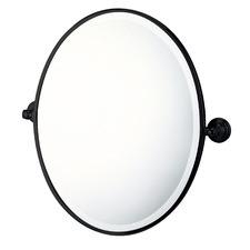 Mayer Wall Mounted Oval Pivot Mirror