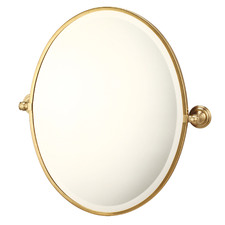 Mayer Wall Mounted Oval Pivot Mirror