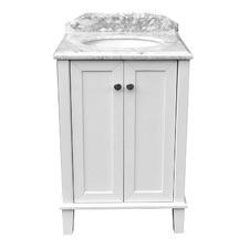 60 x 55cm Coventry Marble Top Vanity Unit