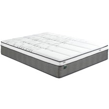 33cm Box Top Pocket Coil with Memory Foam Mattress