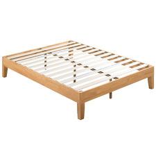 Natural Belvedere Rubberwood Bed Frame