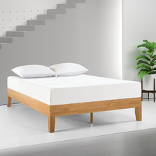Natural Belvedere Rubberwood Bed Frame