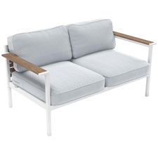 2 Seater Pablo Steel Outdoor Framed Sofa