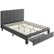 Walter Bed Frame with Storage