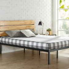 Paul Wood & Metal Bed Frame