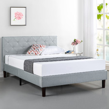Grey Merton Bed Frame