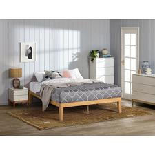 Natural Belvedere Standard Wooden Bed Base