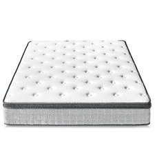 Plush Velez Euro Top Foam & Coil Mattress