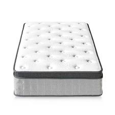 Medium Velez Euro Top Foam & Coil Mattress