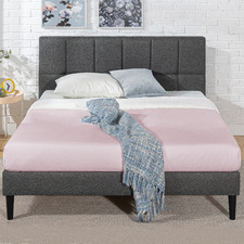 Harlow Upholstered Platform Bed