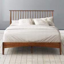 Medium Timber Norton Platform Bed