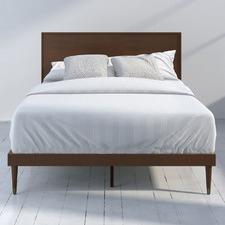 Delmond PIne Wood Platform Bed