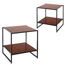 Moderno Zion Bedside Tables (Set of 2)