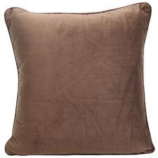 Piped Edge Velvet Cushion