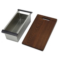 Dromma Chopping Board & Colander Kitchen Sink Add On