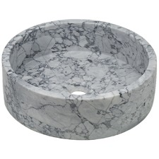 Round Gretta Marble Bathroom Basin