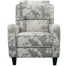 Grey Brenda Recliner Armchair
