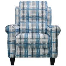 Carol Chequered Recliner Armchair