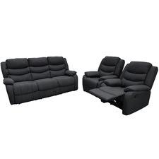 Cleveland Upholstered 5 Seater Lounge Set