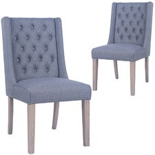 Denver Upholstered Dining Chairs (Set of 2)