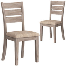 Echuca Acacia Wood Dining Chairs (Set of 2)