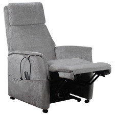 Grey Eccles Upholstered Lift Recliner Chair