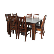 Heritage Solid Seat Chairs (Set of 2)