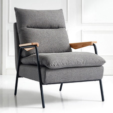 Ashton Upholstered Lounge Chair