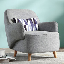 Modern Landon Upholstered Armchair