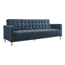 Delia 3 Seater Velvet Sofa Bed