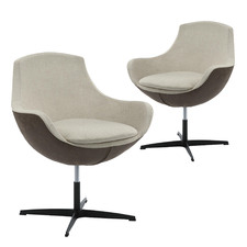 Carina Height-Adjustable Dining Chairs (Set of 2)