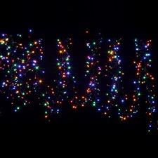 720 Multi-Coloured LED Cluster Lights