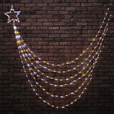 200 Cool & Warm White LED Shooting Star Lights
