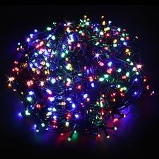 1000 Multi-Coloured LED Solar Fairy Lights