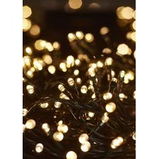 1000 Warm White LED Solar Fairy Lights