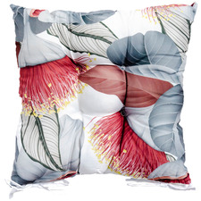 Bottle Brush Flowers Outdoor Chair Pad
