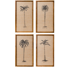 4 Piece Plantation Framed Print Wall Art Set