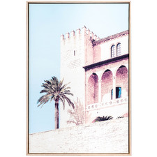Moroccan Hide Away Framed Canvas Wall Art