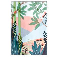 Modern Desert Forest Delight Framed Canvas Wall Art