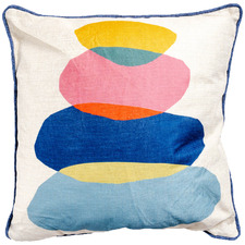 Stone Stack Artist Lab Cotton-Blend Cushion