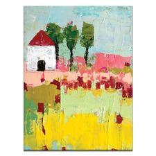 Simi's Settlement by Anna Blatman Art Print on Canvas
