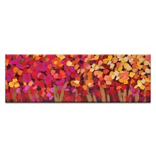 Summer Blooms Canvas Wall Art